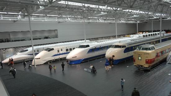 10 พิพิธภัณฑ์น่าเที่ยวในญี่ปุ่น-พิพิธภัณฑ์รถไฟ