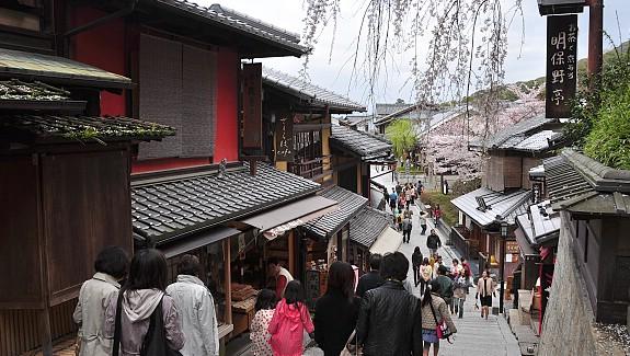 10 ย่านเก่าน่าเดินเล่นในญี่ปุ่น-ย่านฮิกาชิยาม่า
