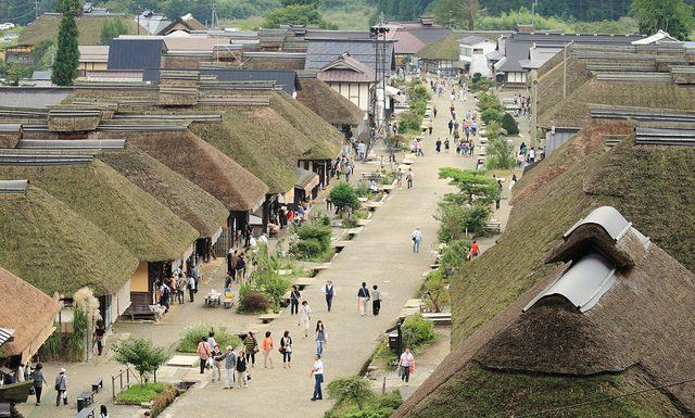 10 ย่านเก่าน่าเดินเล่นในญี่ปุ่น-หมู่บ้านโออุจิจุกุ