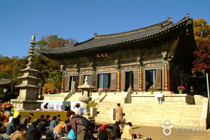 10 วัดน่าเที่ยวในเกาหลี -วัดพงอึนซา