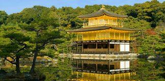 10 วัดเเละศาลเจ้าของญี่ปุ่นที่น่ามาเที่ยว-วัดคินคาคุจิ