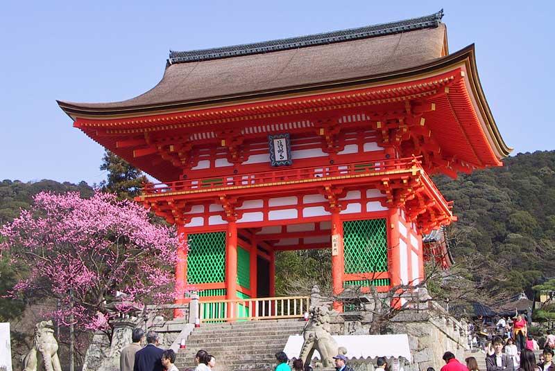 10 วัดเเละศาลเจ้าของญี่ปุ่นที่น่ามาเที่ยว-วัดคิโยมิซุเดระ