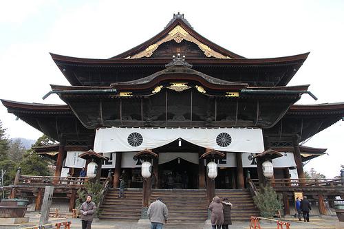 10 วัดเเละศาลเจ้าของญี่ปุ่นที่น่ามาเที่ยว-วัดเชนโคจิ