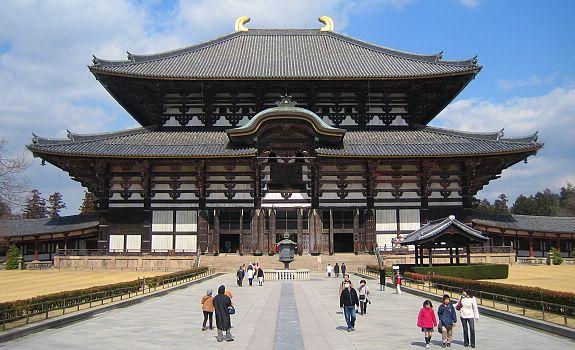 10 วัดเเละศาลเจ้าของญี่ปุ่นที่น่ามาเที่ยว-วัดโทไดจิ