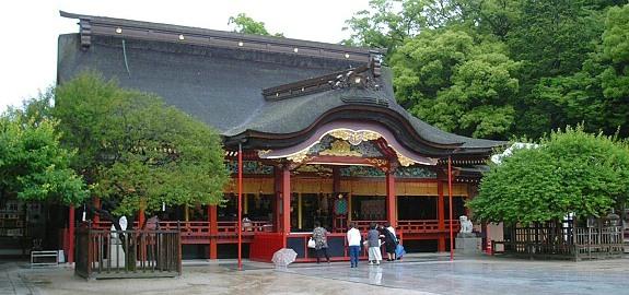 10 วัดเเละศาลเจ้าของญี่ปุ่นที่น่ามาเที่ยว-ศาลเจ้าดาไซฟุ