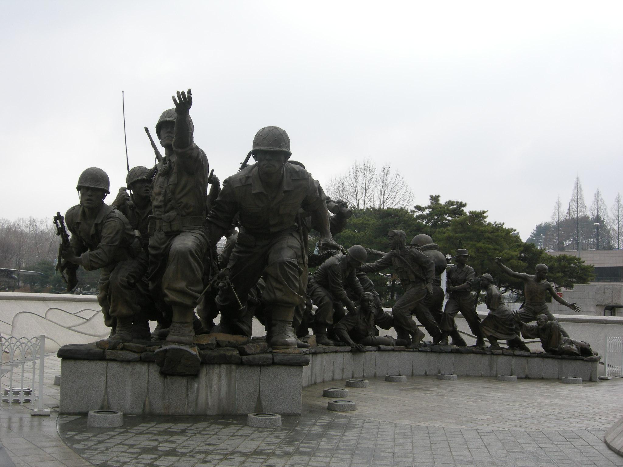 10 สถานที่ท่องเที่ยวสำคัญในเกาหลี-อนุสรณ์สถานสงครามเกาหลี