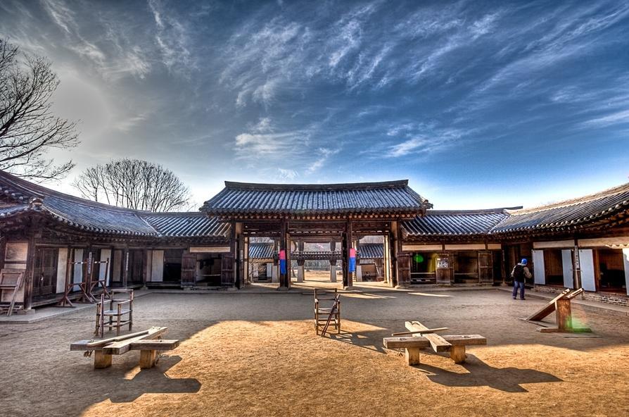 10 สถานที่ท่องเที่ยวเก่าเเก่ในเกาหลีที่ห้ามพลาด-หมู่บ้านวัฒนธรรมพื้นบ้านเกาหลี