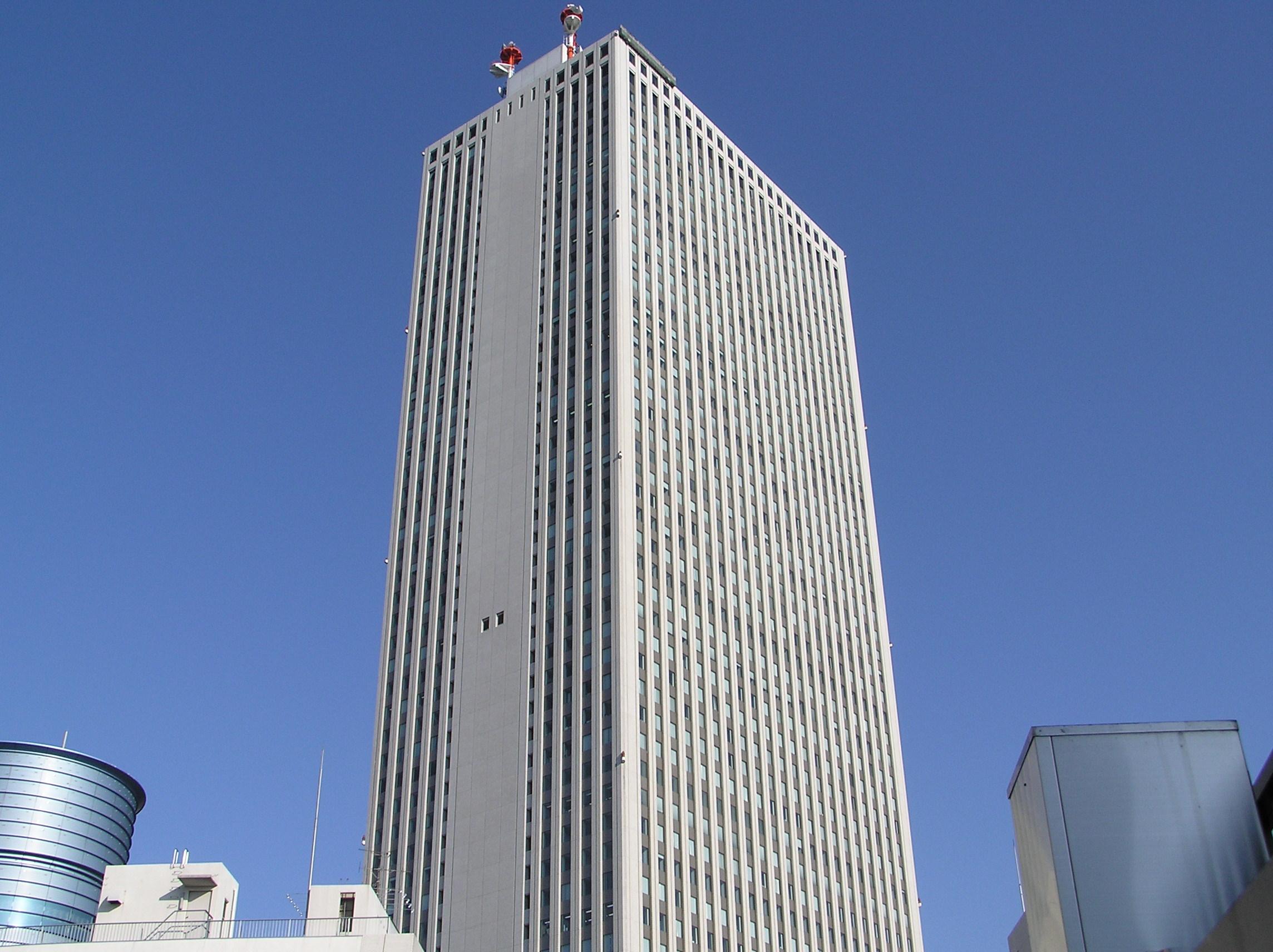 10 หอคอยเเละจุดชมวิวขึ้นชื่อของญี่ปุ่น -ตึกซันชายน์