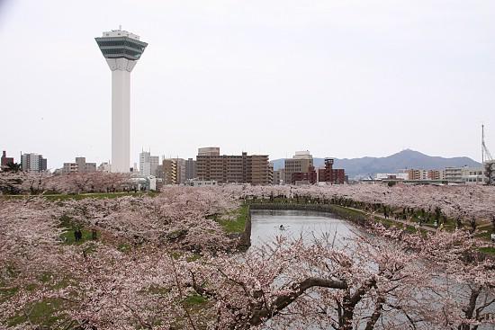 10 หอคอยเเละจุดชมวิวขึ้นชื่อของญี่ปุ่น -หอคอยโกเรียวคาคุ