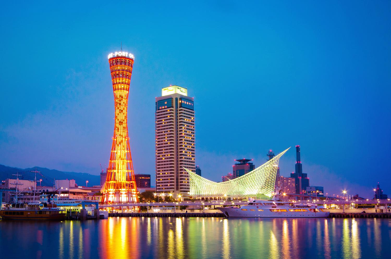 10 หอคอยเเละจุดชมวิวขึ้นชื่อของญี่ปุ่น -โกเบ พอร์ต ทาวเวอร์