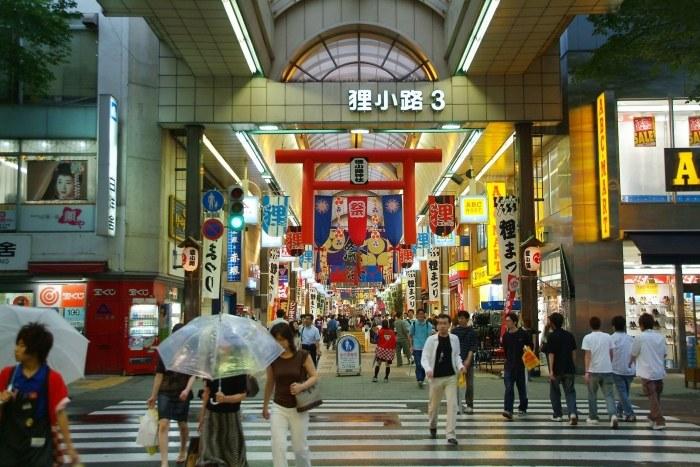 10 เเหล่งช็อปปิ้งสุดฮิตในญี่ปุ่น -ทะนุกิ โคจิ