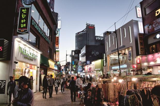 10 เเหล่งช็อปปิ้งสุดฮิตในเกาหลี -ย่านแทฮังโน